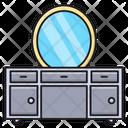 Showcase Drawer Furniture Icon