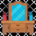 Dresser Miror Furniture Icon