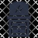 Dresser Mirror Cabinet Icon