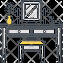Dressing Table Mirrior Drawer Icon