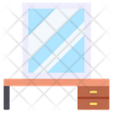 Dressing Table Mirror Reflection Icon
