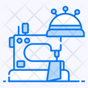 Dressmaker Needlecraft Sewing Machine Icon