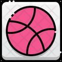Dribble Dribble Logo Basketball Icon