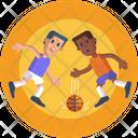 Basketball Dribbling Dribble Player Dribbling Icon