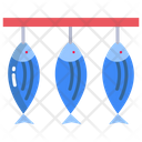 Dried Fish Fish Dried Icon