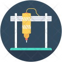 Drill Machine Automation Icon