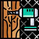 Drill Drilling Wood Drill Icon