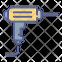 Driller Repair Mechanic Icon