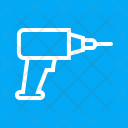 Drill Hand Tool Icon