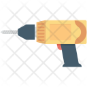 Drill Construction Tool Icon