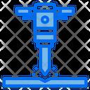 Drill Hard Work Icon