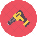 Drill Nail Work Icon