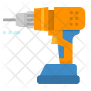 Drill Driller Maintenance Icon