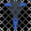 Drill Hammer Hammer Drill Icon