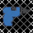 Drilling Machine Construction Icon