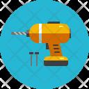 Drill Machine Device Icon