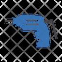 Drill Machine Labor Icon