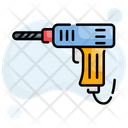 Construction Dril Driller Icon