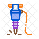 Drill Mining Equipment Icon