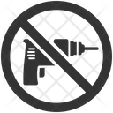 Drill Machine Restriction Icon