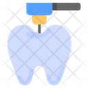 Drilly Tooth Tooth Dental Surgery Icon