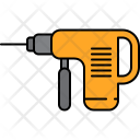 Driller Drill Machine Icon