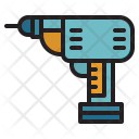 Driller Repair Construction Icon