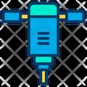 Driller Machine Construction Machine Drilling Machine Icon