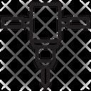 Driller Driller Machine Construction Icon