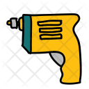 Driller Drill Tool Icon