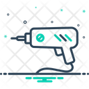 Driller Electric Equipment Icon