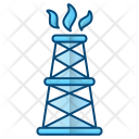 Drilling Rig Extraction Icon