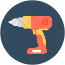 Drilling Construction Machine Icon