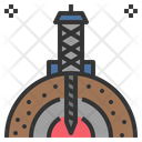 Drilling Geology Exploration Icon