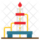 Construction Drilling Rig Icon