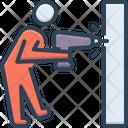 Drilling Work Drill Icon