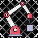 Drilling Construction Labor Icon