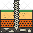 Drilling Construction Tool Icon