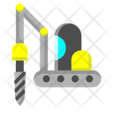 Drilling Tool Construction Icon