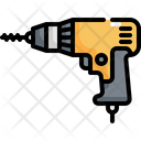 Drilling Machine Robot Icon