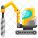 Drilling Machine Drilling Transportation Icon