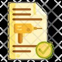 Drilling Permit Icon