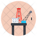 Drilling Rig Oil Rig Drilling Machine Icon