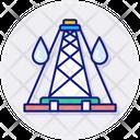 Drilling Rig Boring Drilling Icon