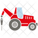 Industrial Tractor Icon
