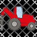 Drilling Vehicle Construction Vehicle Vehicle Icon