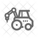 Drilling Vehicle Icon