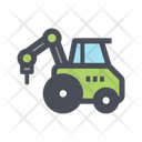 Drilling Vehicle Drilling Vehicle Icon