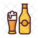 Drink Bottle Glass Icon