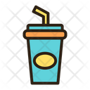 Drink Cold Drink Take Away Cup Icon